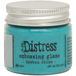 Ranger by Tim Holtz-Distress Embossing Glaze/broken china