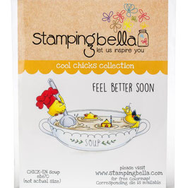 Stamping Bella-Cling Stamp/Chick-en Soup