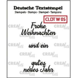 """Crealies-Clear Stamps """"Weihnachten 05"""""""
