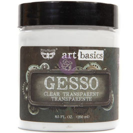 Finnabair-Gesso Clear/Dose 250ml