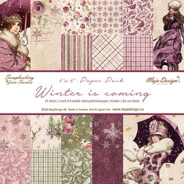 Maja Design-Paper Pad Winter is coming 6x6""