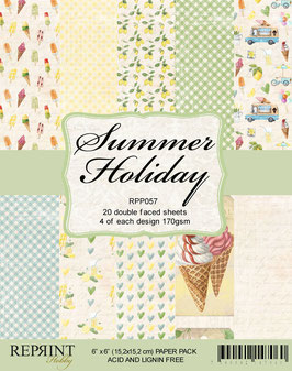 """Reprint-Summer Holiday Collection 6x6"""""""