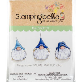 Stamping Bella-Cling Stamp/Gnomes Have Feelings Too