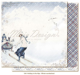 Maja Design-Holiday in the Alps/Winter wonderland