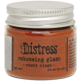 Ranger by Tim Holtz-Distress Embossing Glaze/rusty hinge