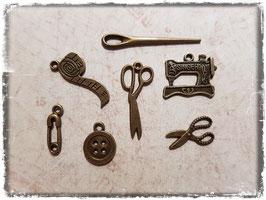 Vintage Metall Charms-Nähen
