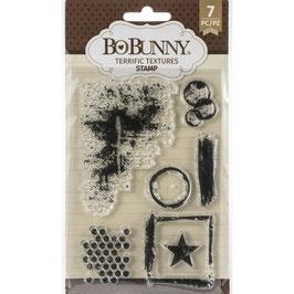 Bo Bunny-Stempel/Terrific Textures