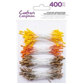 Crafter's Companion/Blumen Staubblätter-Autumn Hues