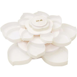 We R Memory Keepers-Bloom Embellishment Storage-White