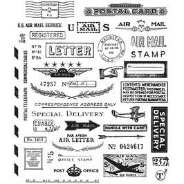 Tim Holtz Stempel Set-Correspondence