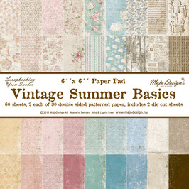 Maja Design-Vintage Summer Basics 6x6""