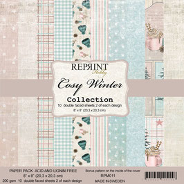 """Reprint-Cosy Winter Collection 8x8"""""""