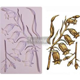 Re-Design with Prima Marketing-Silikonform/Sweet Bellflower
