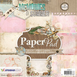 Studio Light Paper Pad-Memories of Summer/PPMS77