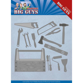 Stanzformen-Find It Trading-Workers Big Guys/Handyman Tools