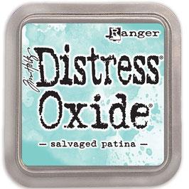 Distress Oxide Stempelkissen-salvaged patina
