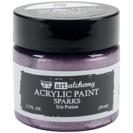 Finnabair-Art Alchemy Sparks Acrylfarbe/Iris Potion