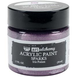 Art Alchemy-Sparks Acrylfarbe/Iris Potion