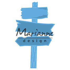 Marianne Design Stanzform-Wooden signpost