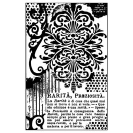 Stamperia-Stempel/Decoration with Whritings