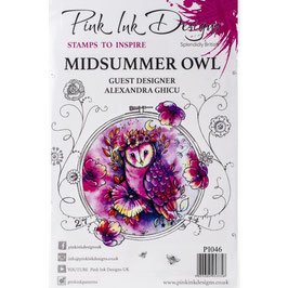 Pink Ink Designs-Stempel/Midsummer Owl