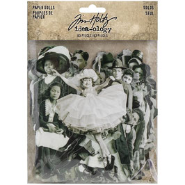 Idea-Ology by Tim Holtz/Paper Dolls Solos 83 Stück