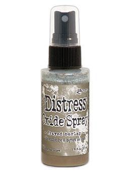 Distress Oxide Spray-frayed burlap