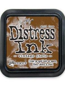 Distress Ink-vintage photo