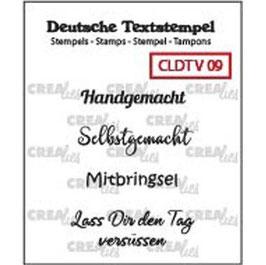 """Crealies-Clear Stamps """"Verschiedene 09"""""""