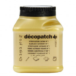 Décopatch Original Klarlack satiniert/180ml