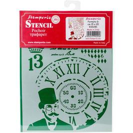 Stamperia-Stencil/Steampunk Man KSD281