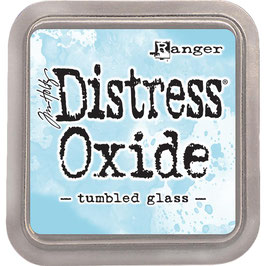 Distress Oxide Stempelkissen-tumbled glass