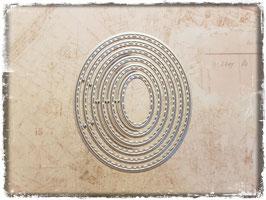 Stanzform-Rahmen Oval 1066