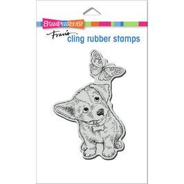 Stampendous! Stempel-Curious Puppy