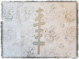 Stanzform-Wegweiser 3018