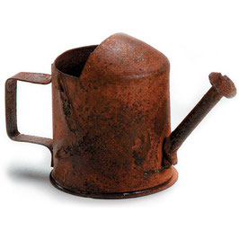 Darice-Timeless Miniatures/Rusty Watering Can 3 Stück