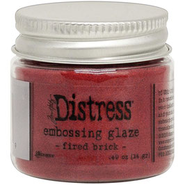 Ranger by Tim Holtz-Distress Embossing Glaze/fired brick