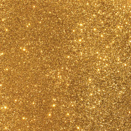 American Crafts-DuoTone Glitter Cardstock 12x12 Gold