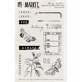 49 and Market-Stempel/Always Together