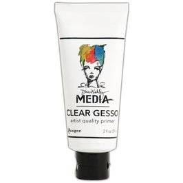 Dina Wakley-Clear Gesso/Tube 59ml