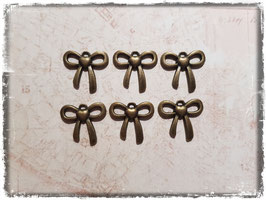Vintage bronce Charms - Schleife 151