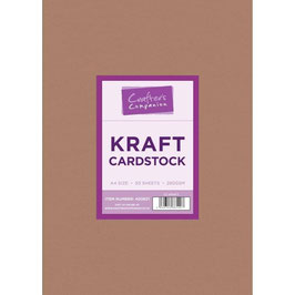 Crafter's Companion-Karton/Braun A4 Pack