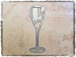 Stanzform-Champagnerglas 3081