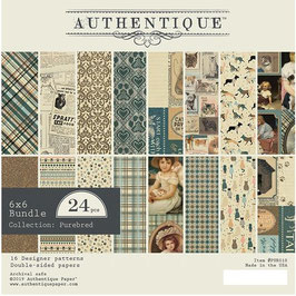 Authentique-Paper Pad/Purebred 6x6""
