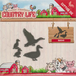 Stanzformen-Find It Trading-Country Life/Ducks