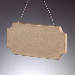 Pappmaché Vintage Schild