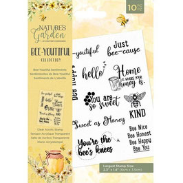 Crafter's Companion Stempel-Bee-Youtiful Collection/Bee-Youtiful Sentiments