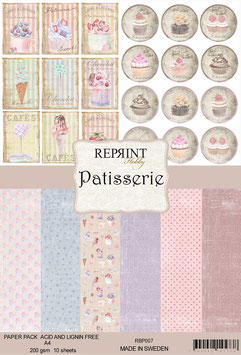 Reprint-Patisserie Collection-A4 Paper Pad