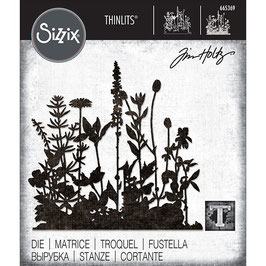 Sizzix by Tim Holtz Thinlits-Stanzform/Flower Field