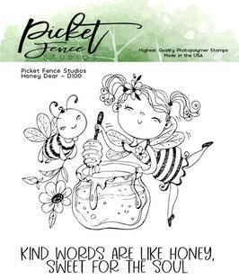 Picket Fence Studios Stempel-Honey Dear